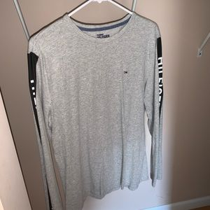 Men's Grey Tommy Hilfiger Shirt